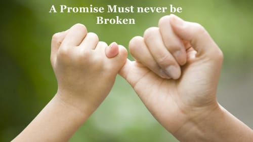 My Promise to My Daughter