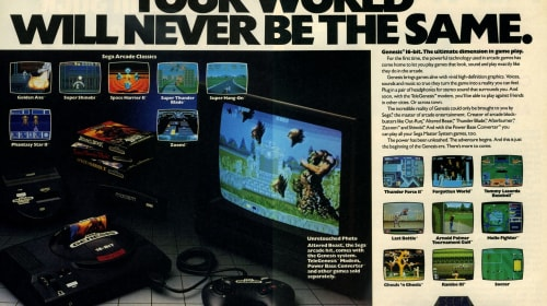 Genesis Does What Nintendon't: Sega Genesis at 30