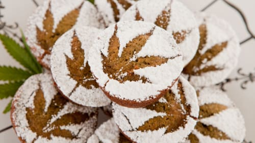 How to Make Salted Caramel Marijuana Muffins