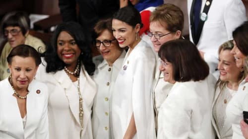 Here's Why Women Wore White During the SOTU...