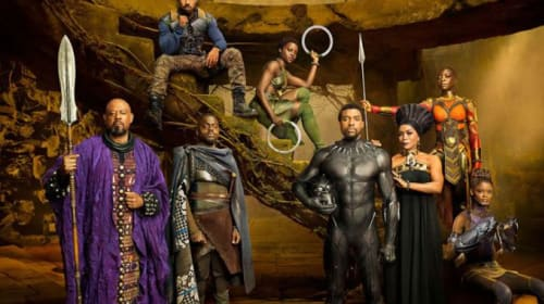 Just Grubbin Series: 'Black Panther' Review