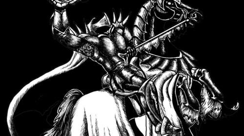 Horseman on Old Hallows
