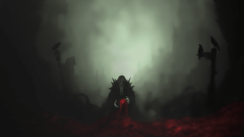 The Beast Within the Dark Forest
