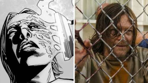 Iron Maiden: Could Daryl About To Be Burned In 'The Walking Dead'?