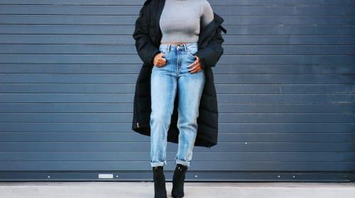 Ways to Wear Mom Jeans