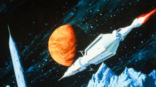 Stunning Sci-Fi Art Spaceships