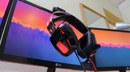 Lose Yourself in the Game with Redragon H201 Noise Canceling Gaming Headphones