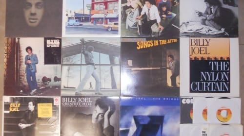 The Geek Girl's Favorite: Billy Joel's Albums