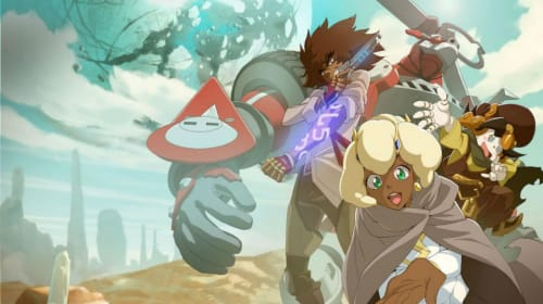 Watching 'Cannon Busters' Episode 6