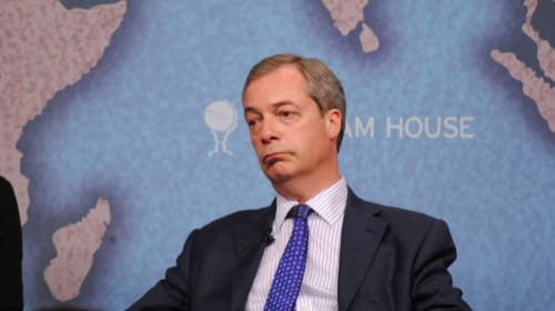 Nigel Farage Goes To Hollywood - But Is This A Smart Move?