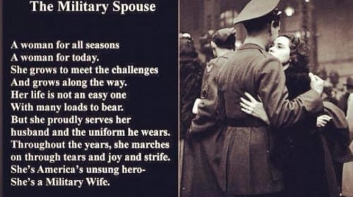 What I Have Learned as a New Military Wife