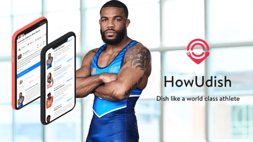 HowUdish Teams Up with Top Pro Athletes to Inspire Users to Eat like a Champion