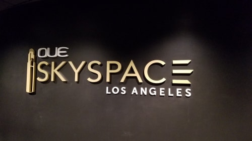 The Sky's the Limit at Skyspace LA
