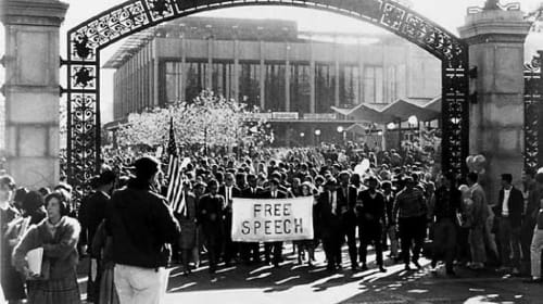 Free Speech and the New Left