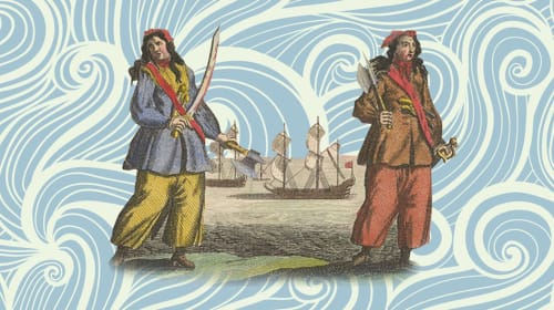 The History of Anne Bonney and Mary Read