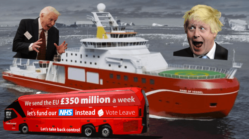 Brexit Is the Real World's Boaty McBoatface