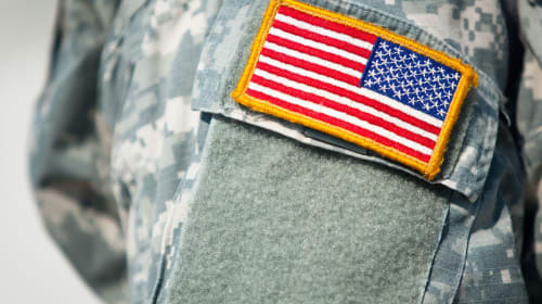 Why Is the American Flag Backward on Military Uniforms?
