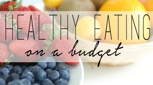 Healthy Meals on a Budget