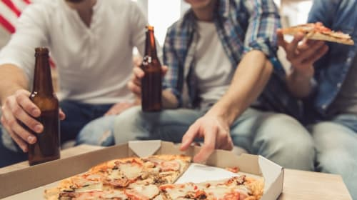 God Bless America! Pizza and Beer Delivered to Your Door!