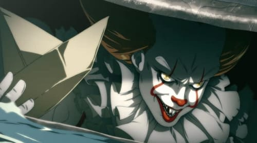'It' Gets the Anime Treatment as Fan's Pennywise Artwork Is Transformed into a Video