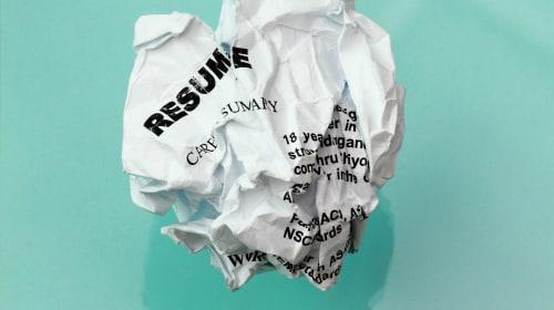 10 Signs Your Résumé Isn't Working