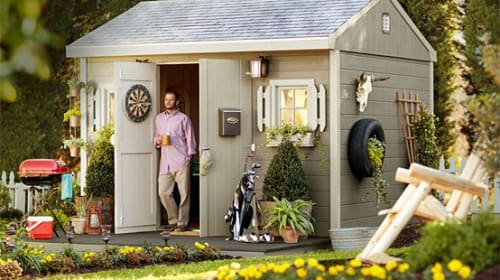 Mi Casa, Su Garden Shed