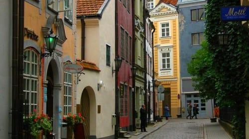 The Old Town Riga Latvia