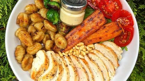 Chicken and Gnocchi Warm Salad