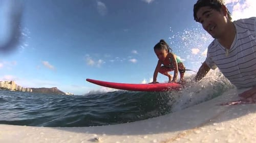 Dads: Bodysurf with Your Kids