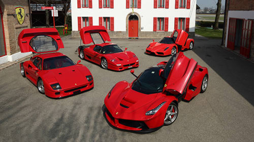 Top 10 Ferraris of All Time