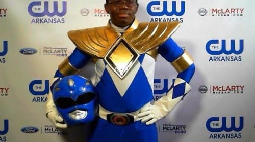 Armored Blue Ranger Cosplay