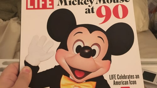Mickey Mouse at 90
