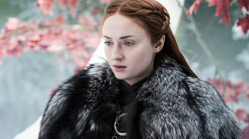 The Beautiful Meaning Behind Sansa Stark's Hair in the 'Game of Thrones' Finale