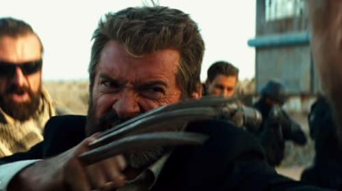 Wolverine's Claws Tested Against Hydraulic Press in 'Logan' Video