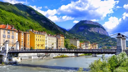 Sight-seeing in and around Grenoble, France