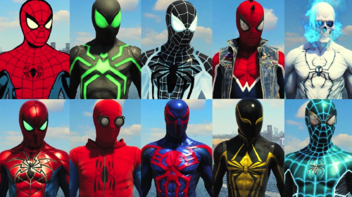All 42 'Spider-Man PS4' Suits Ranked From Worst to Best