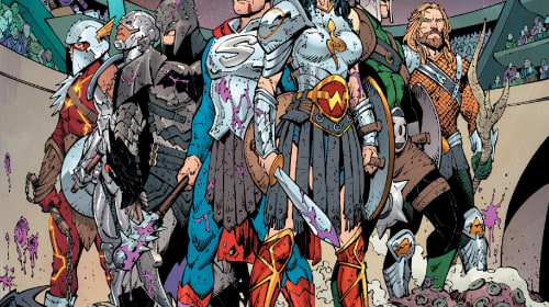 GEEKS Previews DC Comics' August 2017 Solicitations