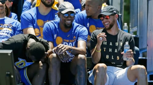 While Teams Scramble To Get Better, The Warriors Sit Back And Laugh
