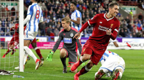 Huddersfield 0-3 Liverpool: Stats Review