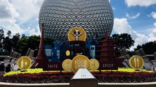 Just Grubbin Series: Walt Disney World Food and Wine Festival 2017