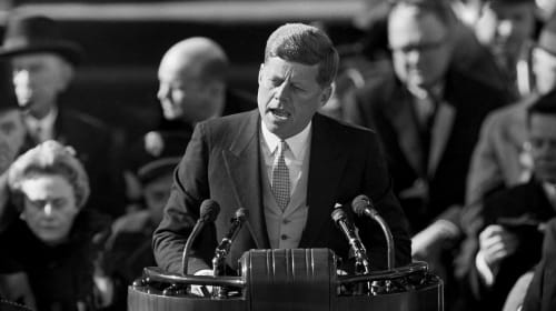Analyzing John F. Kennedy's Inaugural Address