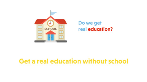 Do We Get Real Education at School?