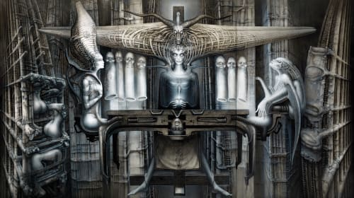 Best H.R. Giger Art Books