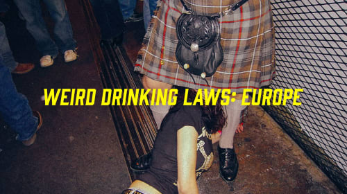 Weird Drinking Laws in Europe