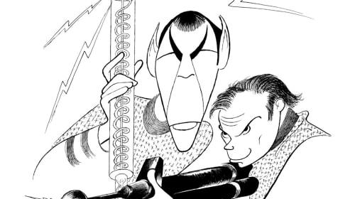 Al Hirschfeld's Legendary 'Star Trek' Illustrations