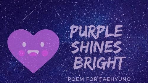 Purple Shines Bright