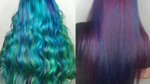 What I Learned From Dyeing My Hair Blue