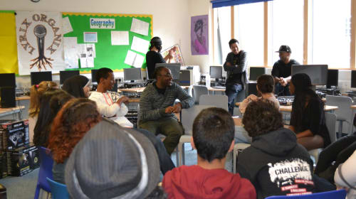 Podcasting Amplifies the Voices of a Unique Group of Students at Bed-Stuy Brooklyn School