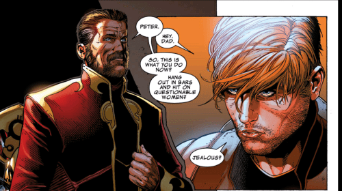 Peter Quill's Father is HIM?