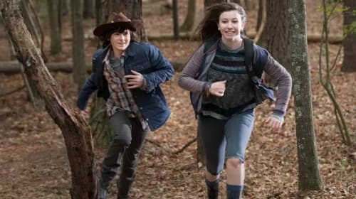 Rollerskating And Romance: Does Love Mean Death For Carl And Enid On 'The Walking Dead'?